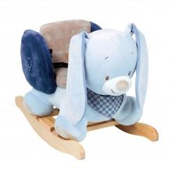 خريد اينترنتي سيسموني نوزاد راکر خرگوش آبی کودک ناتو NATTOU نوزادی، نی نی لازم فروشگاه اینترنتی سیسمونی