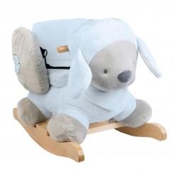 خريد اينترنتي سيسموني نوزاد راکر چوبی ناتو مدل گوسفند NATTOU نوزادی، نی نی لازم فروشگاه اینترنتی سیسمونی