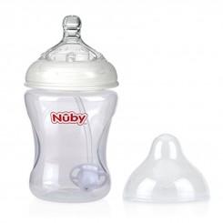 شیشه شیر نوزاد 360 درجه نابی Nuby