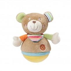 خريد اينترنتي سيسموني نوزاد جغجغه عروسکی بی بی فهن طرح خرس Beby Fehn نوزادی، نی نی لازم فروشگاه اینترنتی سیسمونی