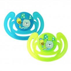 خريد اينترنتي سيسموني نوزاد پستانک ارتودنسی نوزادی روتو رنگ سبز آبی Rotho نوزادی، نی نی لازم فروشگاه اینترنتی سیسمونی
