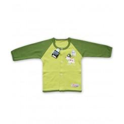 خريد اينترنتي سيسموني نوزاد مانتو پسرانه سبز تاپ لاین Top Line نوزادی، نی نی لازم فروشگاه اینترنتی سیسمونی