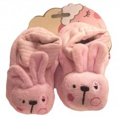 پاپوش نوزاد خرگوش صورتی کارترز Carters