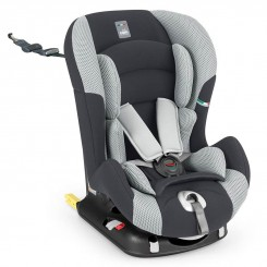 صندلی ماشین ایزوفیکس دار برند کم رنگ طوسی - مشکی CAM