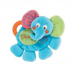 خريد اينترنتي سيسموني نوزاد دندانگیر پارچه فیل چیکو Chicco نوزادی، نی نی لازم فروشگاه اینترنتی سیسمونی