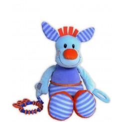 خريد اينترنتي سيسموني نوزاد نخکش موزیکال کانگورو آبی جولی بی بی Jollybaby نوزادی، نی نی لازم فروشگاه اینترنتی سیسمونی