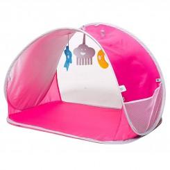 خريد اينترنتي سيسموني نوزاد پلی جیم با روکش یو وی رنگ صورتی برند BBGG نوزادی، نی نی لازم فروشگاه اینترنتی سیسمونی