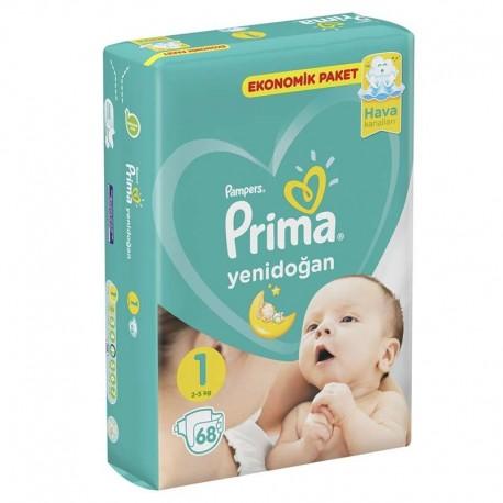 پمپرز - پوشک نوزاد 2تا5 کیلوگرم پریما پمپرز (سایز 1) Pampers - 1