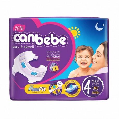 پوشک نوزاد جان ب ب 7تا14 کیلوگرم (سایز4) Canbebe - 1