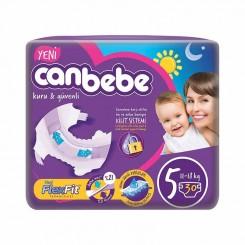 خريد اينترنتي سيسموني نوزاد پوشک نوزاد جان ب ب 11تا18 کیلوگرم (سایز5) Canbebe - 1 نوزادی، نی نی لازم فروشگاه اینترنتی سیسمونی