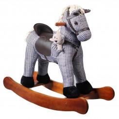 خريد اينترنتي سيسموني نوزاد راکر اسب برند ویکتور کیدز رنگ طوسی VictorKids نوزادی، نی نی لازم فروشگاه اینترنتی سیسمونی