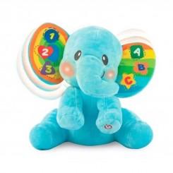 خريد اينترنتي سيسموني نوزاد اسباب بازی فیل موزیکال و چراغ دار وین فان WinFun نوزادی، نی نی لازم فروشگاه اینترنتی سیسمونی