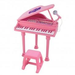 ست پیانو و میکروفون وین فان رنگ صورتی WinFun