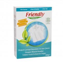 پودر سفید کننده اکسیژن فرندلی ارگانیگ 500 میل Friendly Organic