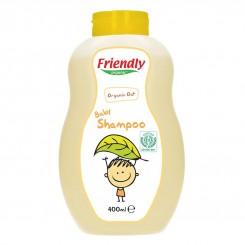 خريد اينترنتي سيسموني نوزاد شامپو سر و بدن بچه رایحه دار جو میل فرندلی ارگانیگ 400 میل Friendly Organic نوزادی، نی نی لازم فروشگاه اینترنتی سیسمونی