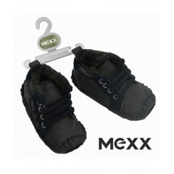 خريد اينترنتي سيسموني نوزاد کفش سرمه ای داخل خز پسرانه مکس Mexx نوزادی، نی نی لازم فروشگاه اینترنتی سیسمونی
