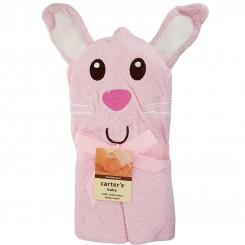 خريد اينترنتي سيسموني نوزاد حوله کلاهدار عروسکی کارترز طرح خرگوشCarters نوزادی، نی نی لازم فروشگاه اینترنتی سیسمونی