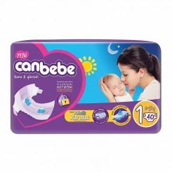 پوشک نوزاد جان ب ب 2تا5 کیلوگرم (سایز1) Canbebe