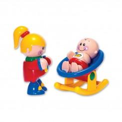 ست عروسک نوزاد و خواهر برند تولو Tolo
