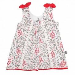 پیراهن دخترونه طرح گل لاله لیدولند Lidoland