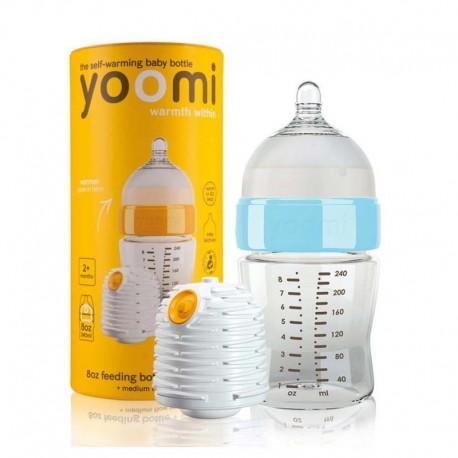شیشه شیرخوری طلقی وارمر دار یومی 240 میل Y0omi