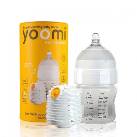 شیشه شیر خوری وارمر دار یومی 140 میل Yoomi