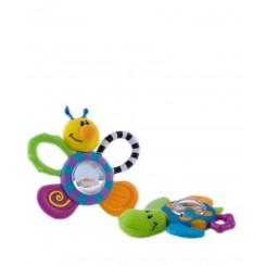 خريد اينترنتي سيسموني نوزاد خنک کننده با اسباب بازی نابی Nuby - 1 نوزادی، نی نی لازم فروشگاه اینترنتی سیسمونی