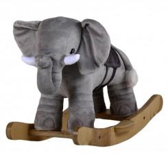 خريد اينترنتي سيسموني نوزاد راکر چوبی فیل کلوروا Cleverwa نوزادی، نی نی لازم فروشگاه اینترنتی سیسمونی