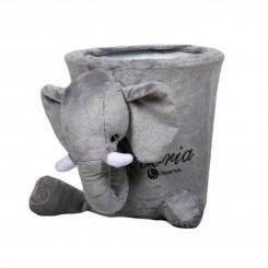 خريد اينترنتي سيسموني نوزاد سطل عروسکی اتاق کودک برند کلوروا طرح فیل Cleverwa نوزادی، نی نی لازم فروشگاه اینترنتی سیسمونی