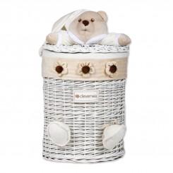 خريد اينترنتي سيسموني نوزاد سبد اسباب بازی درب دار اتاق نوزاد مدل خرس کلوروا Cleverwa نوزادی، نی نی لازم فروشگاه اینترنتی سیسمونی