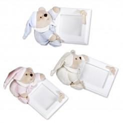 خريد اينترنتي سيسموني نوزاد قاب عکس عروسکی اتاق کودک مدل خرس ناتان کلوروا Cleverwa نوزادی، نی نی لازم فروشگاه اینترنتی سیسمونی