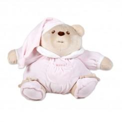خريد اينترنتي سيسموني نوزاد عروسک پولیشی خرس ناتان رنگ صورتی کلوروا Cleverwa نوزادی، نی نی لازم فروشگاه اینترنتی سیسمونی
