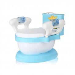 خريد اينترنتي سيسموني نوزاد توالت فرنگی سه کاره کودک سامیا تویز آبی نوزادی، نی نی لازم فروشگاه اینترنتی سیسمونی