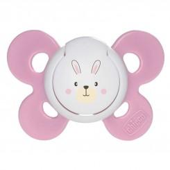 پستانک فیزیو کامفورت ارتودنسی دخترانه چیکو طرح خرگوش Chicco