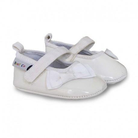کفش دخترانه ورنی 3 رنگ بت Baat - 1