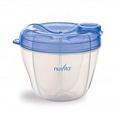 ظرف ذخیره شیرخشک نوزاد نوویتا آبی رنگ Nuvita