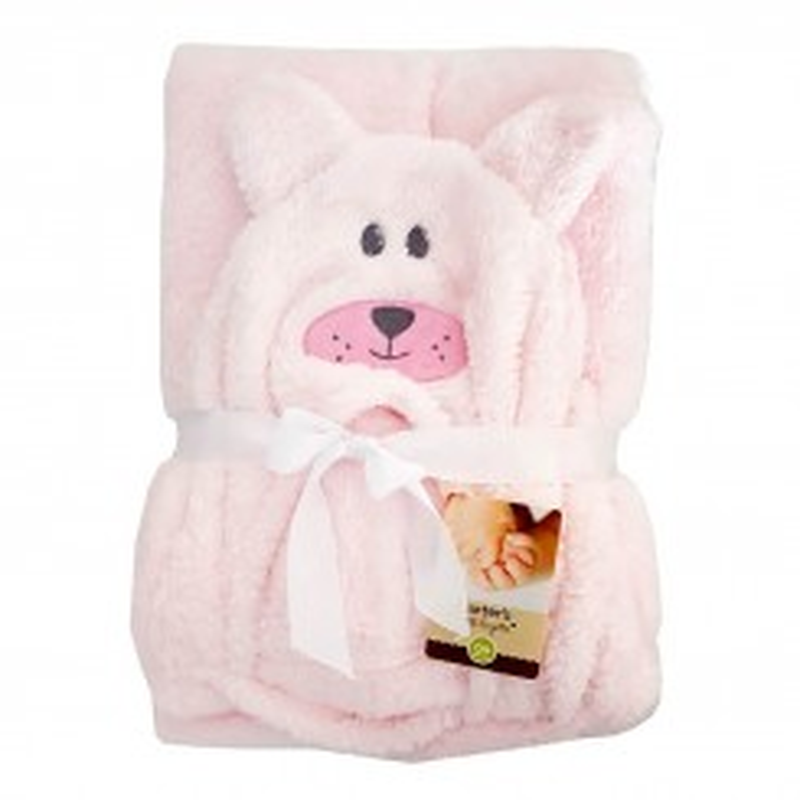 خريد اينترنتي سيسموني نوزاد پتو کلاه دار کارترز طرح خرگوش Carters نوزادی، نی نی لازم فروشگاه اینترنتی سیسمونی