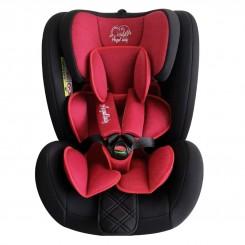 صندلی ماشین کودک چرخشی 360 درجه آنجل بیبی قرمز AnjelBaby