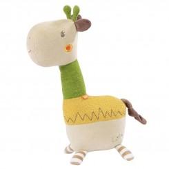 اسباب بازی عروسک مخملی بزرگ زرافه بی بی فن Babyfehn