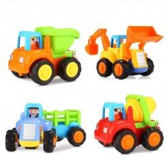 اسباب بازی آموزشی ماشین نشکن 4 عددی هولی تویز Hola Toys