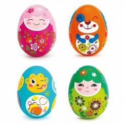 جغجغه تعادلی طرح تخم مرغ هولی تویز Hola Toys