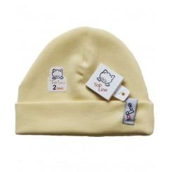 خريد اينترنتي سيسموني نوزاد کلاه استرچ(زرد)تاپ لاین Top Line نوزادی، نی نی لازم فروشگاه اینترنتی سیسمونی