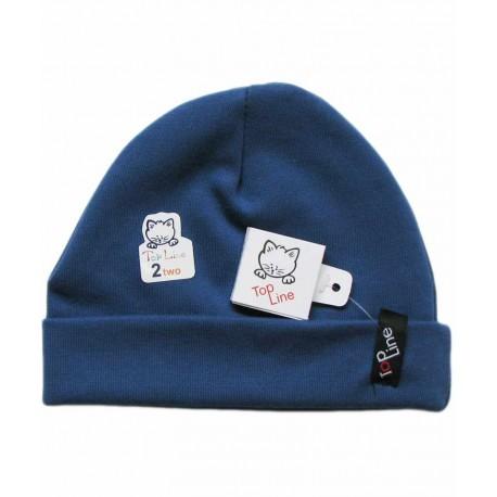 کلاه استرچ(آبی نفتی)تاپ لاین Top Line - 1