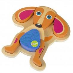 خريد اينترنتي سيسموني نوزاد پازل 4 تکه طرح سگ اوپس OOPS نوزادی، نی نی لازم فروشگاه اینترنتی سیسمونی