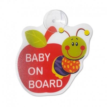 آویز هشدار کودک ماشین Baby on board