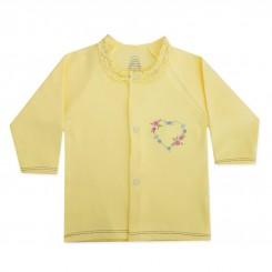 لباس دخترانه نوزادی جلو دکمه دار طرح لی لی لیدولند Lidoland