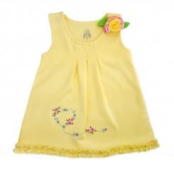 پیراهن دخترانه نوزادی طرح لی لی لیدولند Lidoland