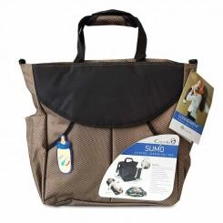 کوله پشتی و کیف لوازم نوزاد کاپلا مدل سومو کرم Capella