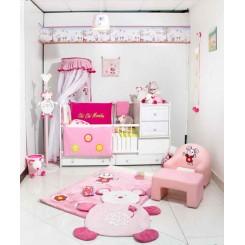 خريد اينترنتي سيسموني نوزاد فرش اتاق کودک (مدل موشا)پارکادو Parkado نوزادی، نی نی لازم فروشگاه اینترنتی سیسمونی