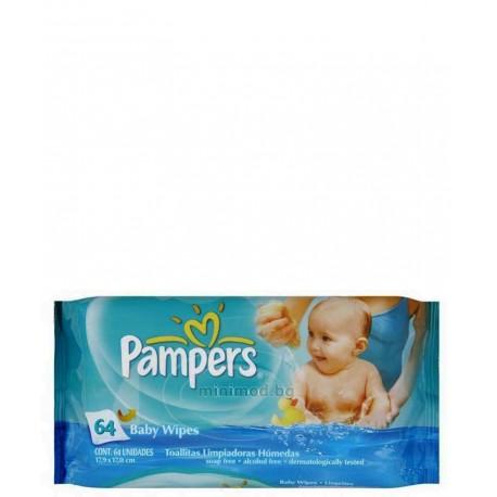 دستمال مرطوب 64 عددی پمپرز Pampers - 1